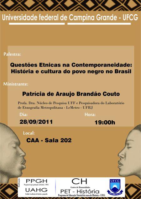 História e cultura do povo negro no Brasil